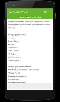 Kumpulan Vocab apk screenshot
