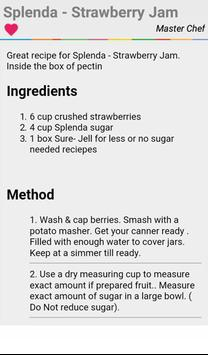 Strawberry Jam Recipes apk screenshot