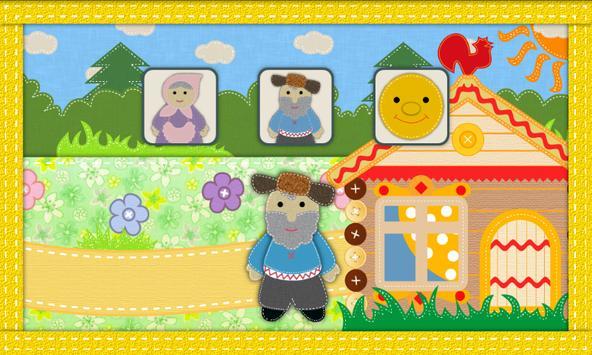 Курочка Ряба. Интерактивная. apk screenshot