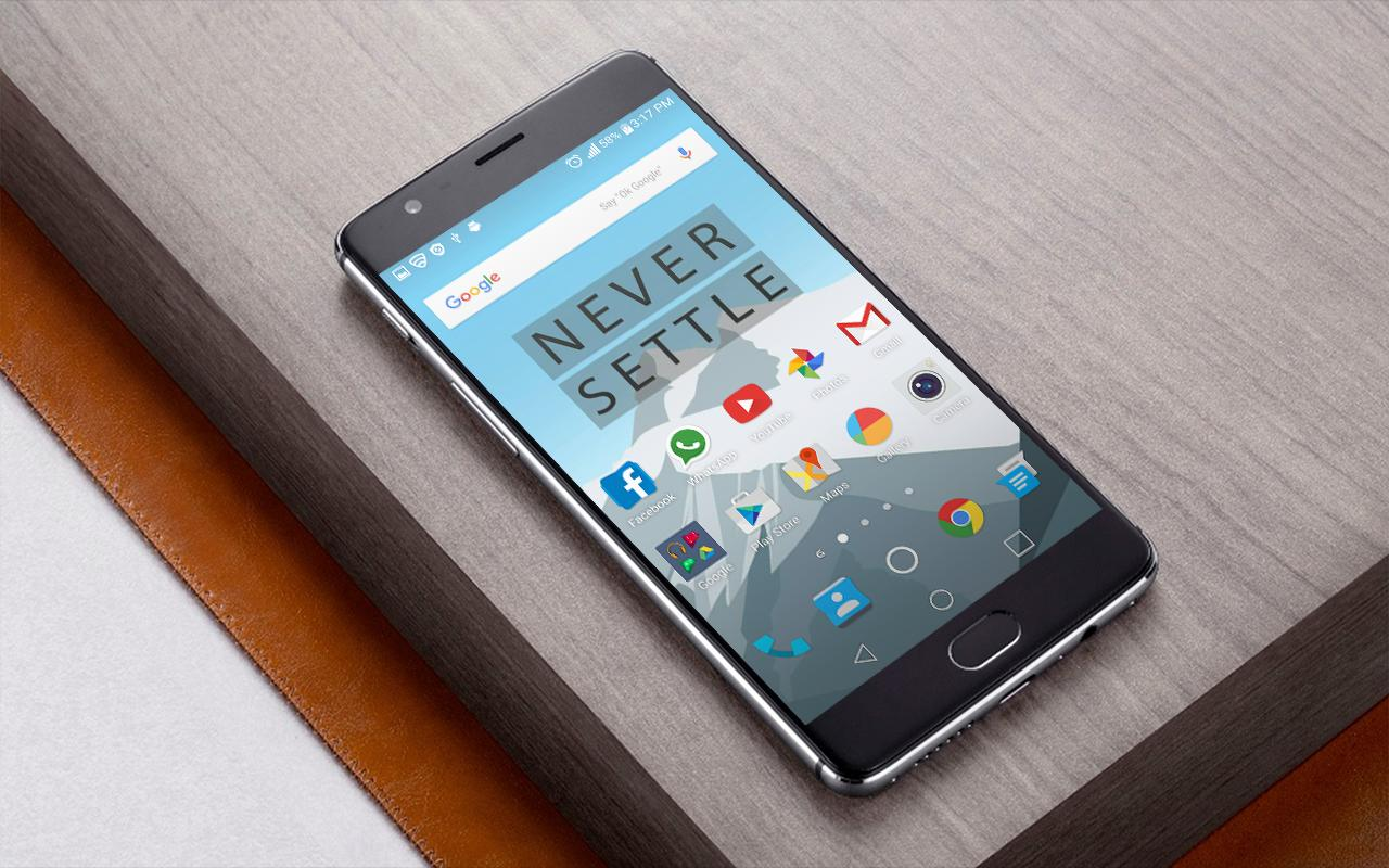 Theme Launcher For One Plus 3 APK Download Free