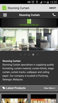 Stunningcurtain.com poster
