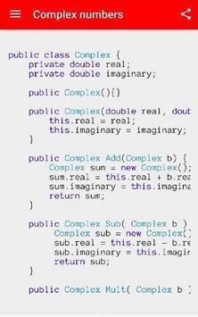 Java Samples apk screenshot
