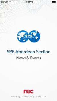 SPE Aberdeen - News & Events poster