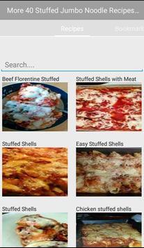 Stuffed Jumbo Noodle Recipes apk screenshot