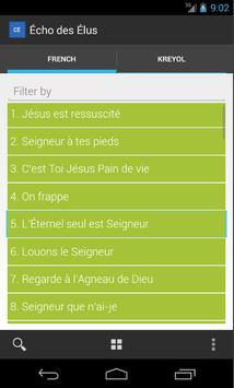 Chant d'Espérance apk screenshot