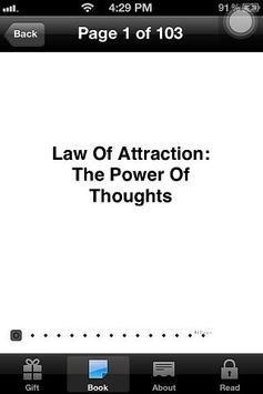 Law of Attraction Mind Power apk screenshot