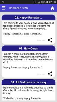 Ramazan SMS poster