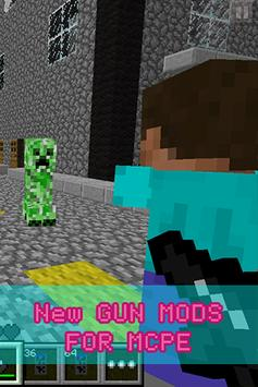 New GUN MODS FOR MCPE poster