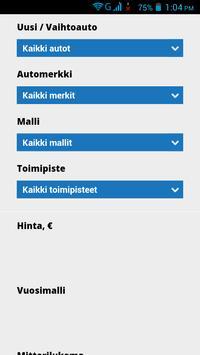 Vaihtoautot Suomi apk screenshot