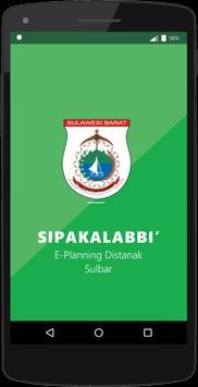 SIPAKALABBI E-Planning Sulbar poster