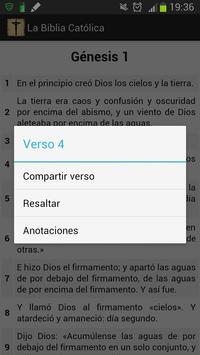 La Biblia Católica apk screenshot