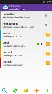 Sync Yahoo Mail - Email App poster