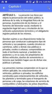 Ley de Tránsito Honduras apk screenshot
