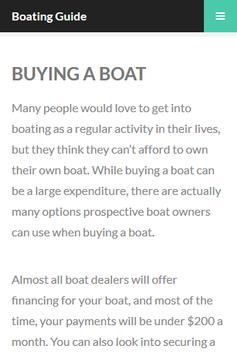 Boating Secrets Guide apk screenshot