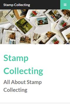 Stamp Collecting poster