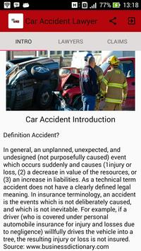 Car Accident Lawyer poster