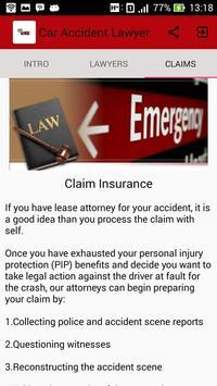 Car Accident Lawyer apk screenshot