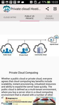 Private Cloud Hosting apk screenshot