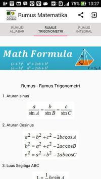 Rumus-rumus Matematika apk screenshot