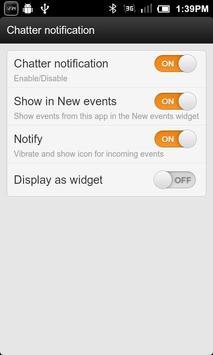 Chatter Notifier apk screenshot
