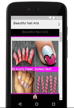 Beautiful Nail Arts Design apk screenshot