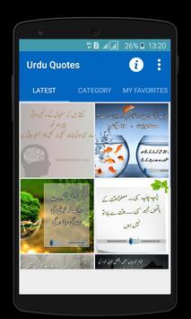 Aqwal-e-Zareen-Urdu Quotes apk screenshot
