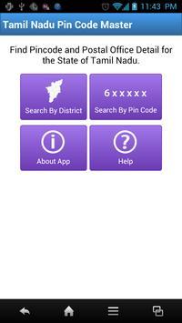 Tamil Nadu Pin Code Master poster
