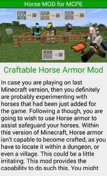 Horse MOD For MCPE.* apk screenshot