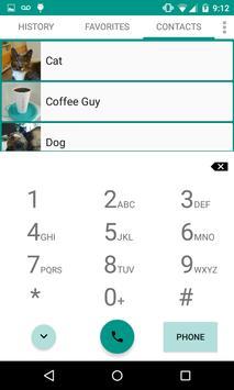 Universal Dialer plus Widget apk screenshot