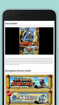 Guide Ultimate Ninja Blazing poster