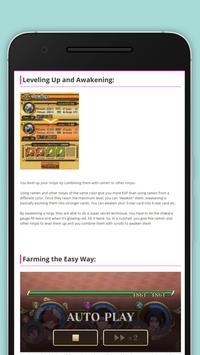 Guide Ultimate Ninja Blazing apk screenshot