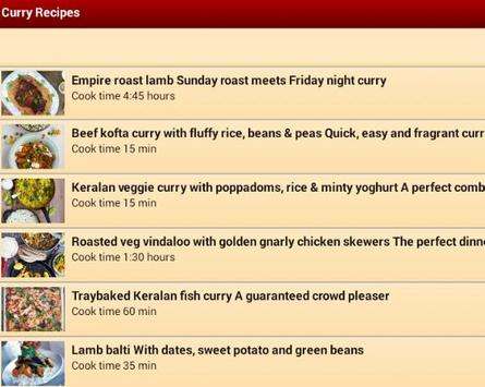 NEW Best Curry Recipes 2015 poster