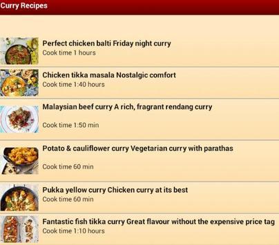 NEW Best Curry Recipes 2015 apk screenshot