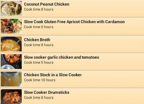 NEW Chicken Slow Cooker 2015 apk screenshot