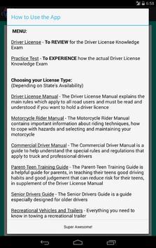 Oregon DMV Reviewer apk screenshot