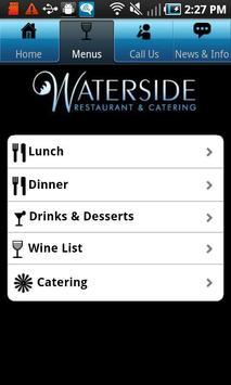 Waterside Restaurant apk screenshot