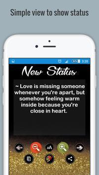 Super status apk screenshot