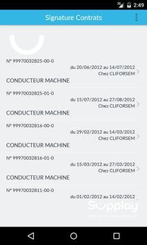 Signature Electronique SUPPLAY apk screenshot
