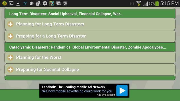 Survivalist 101 apk screenshot