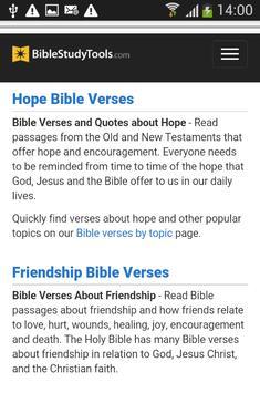 Holy Bible New King James apk screenshot