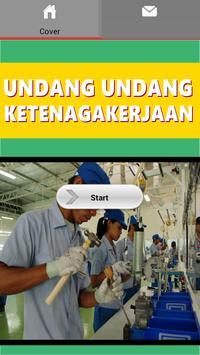 UU Ketenagakerjaan poster