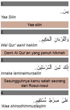 Surat Yasin Digital & Terjemah apk screenshot