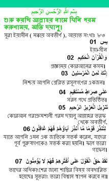 সূরা ইয়াসীন apk screenshot