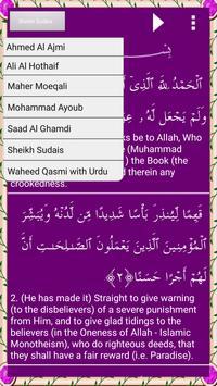Surah Kahf - Audio+Translation apk screenshot