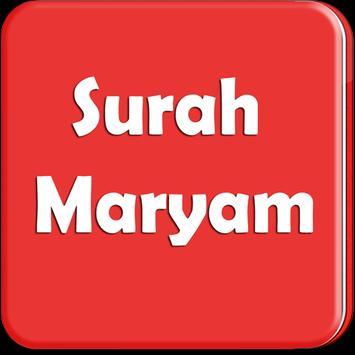 Surah Maryam dan Terjemahannya poster
