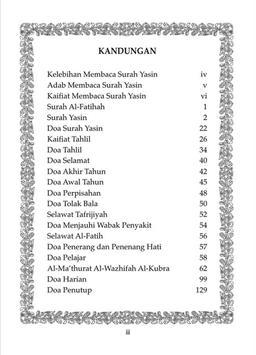 Surah Yasin Tahlil Lengkap apk screenshot