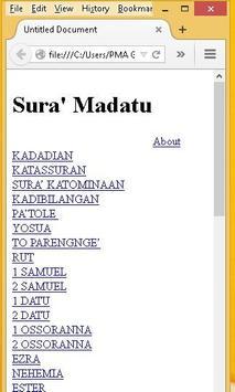 Sura' Madatu poster