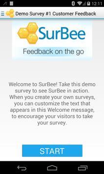 SurBee - Feedback on the Go apk screenshot