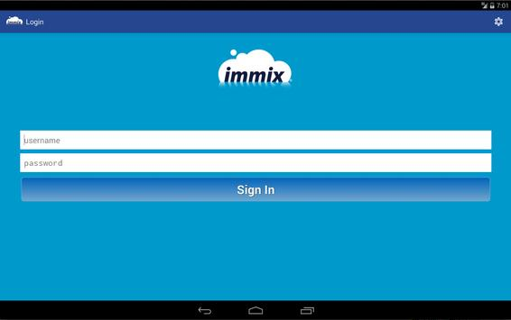 Immix Mobile apk screenshot