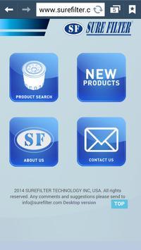 Surefilter Technology poster